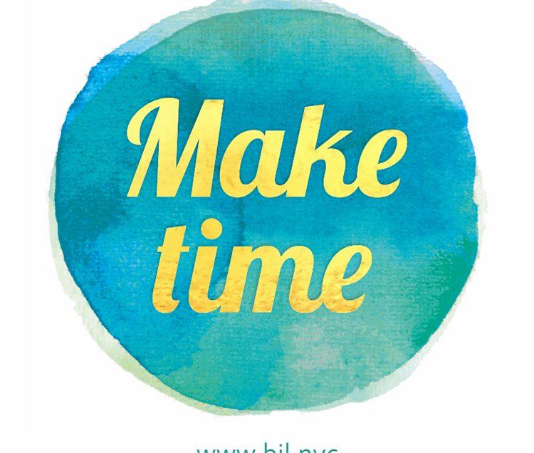 Make time to dance.