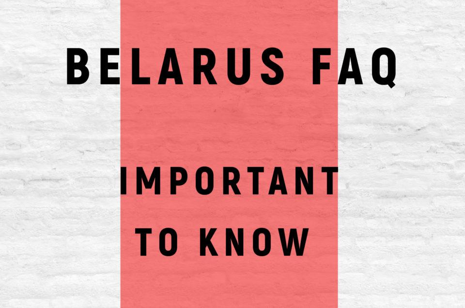 HOW TO HELP BELARUS